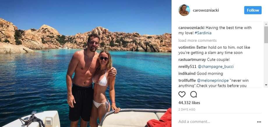 carowozniacki: Sad to leave paradise, but feeling recharged and ready to get back to work Photo: Instagram.com/carowozniacki