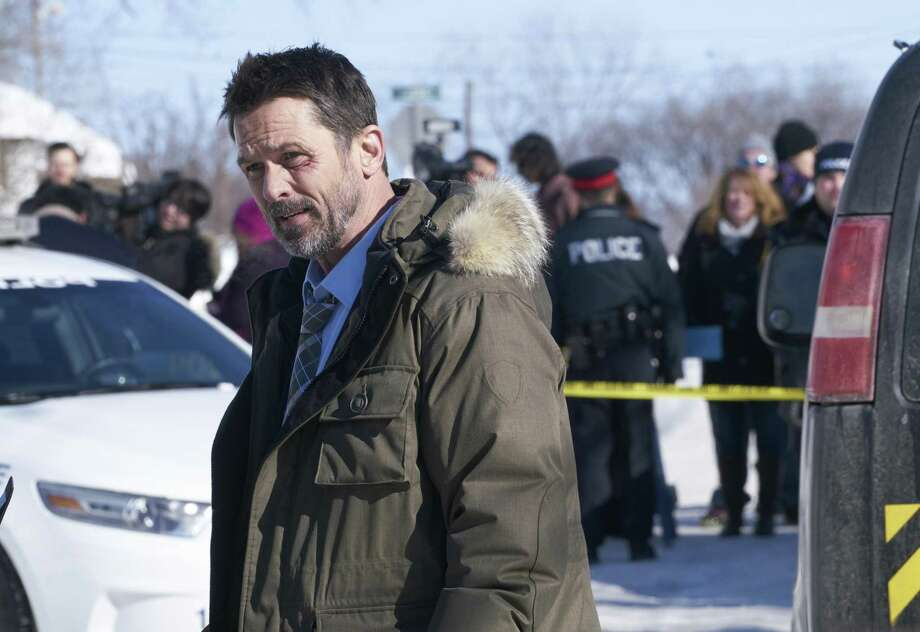 "Billy Campbell stars in ""Cardinal"" as a police detective in Ontario."