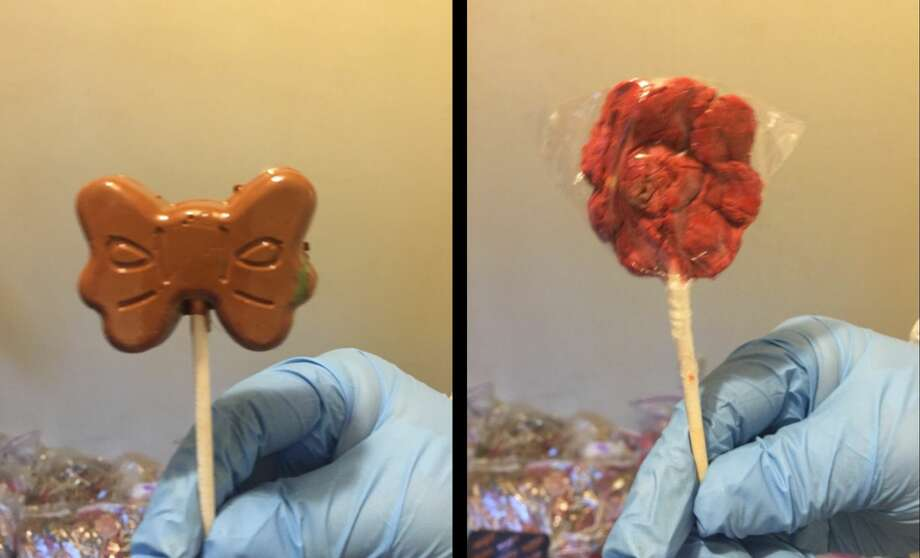 A Houston area drug bust of meth-infused lollipops has made national headlines, but it's just one of many in Houston, a high-intensity drug-tracking area.Click through to see other recent drug busts in the Houston area. Photo: Harris County Sheriff's Office