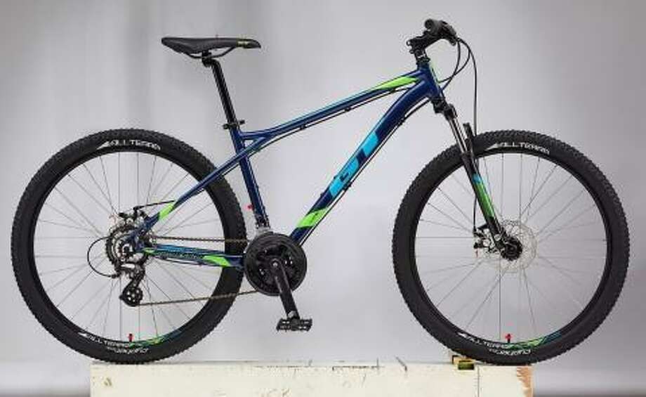 The Wilton-based Cycling Sports Group is recalling 1,000 GT Mountain bicycles because the handlebars can crack, posing a fall hazard. Photos courtesy of the Consumer Products Safety Commission. Photo: Contributed / Contributed