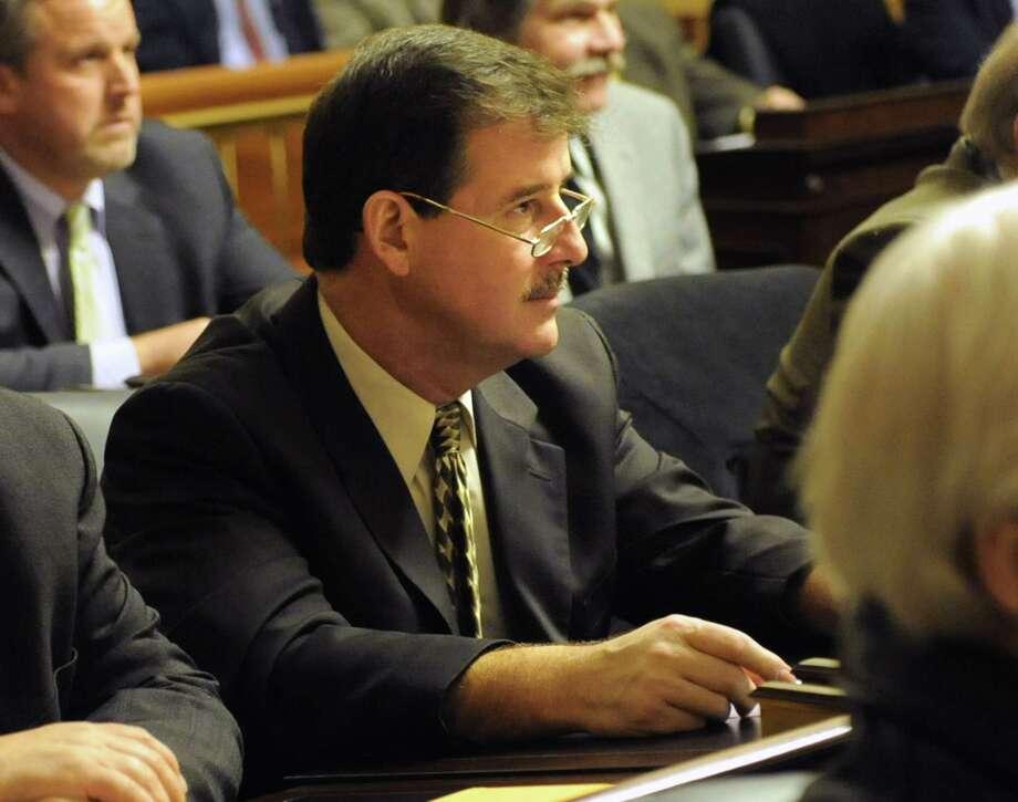Albany County Legislator David Mayo of Latham sponsored a bill to stem nepotism in Albany County government. The legislature defeated it handily on Monday. (Lori Van Buren / Times Union) Photo: Lori Van Buren / 00025158A