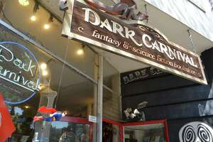Dark Carnival holds 50,000 fantasy and science fiction titles. After 41 years, the Berkeley store will close for good.