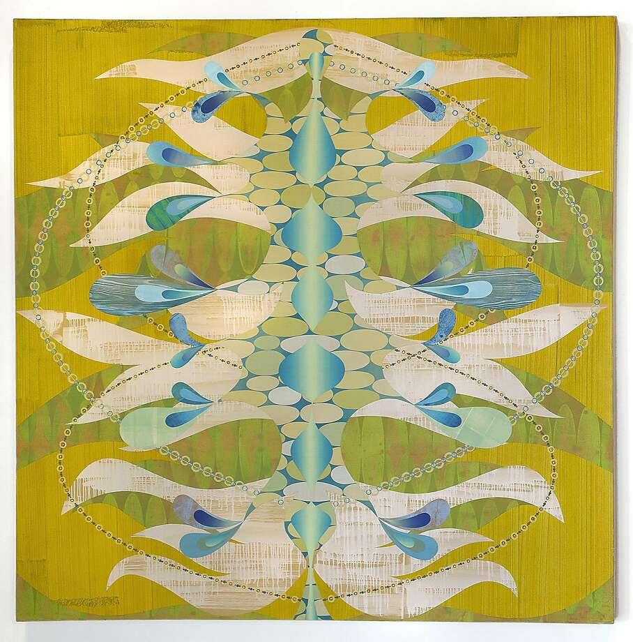 """Rex Ray, """"Isidia"""" (2005) Photo: Gallery 16"""