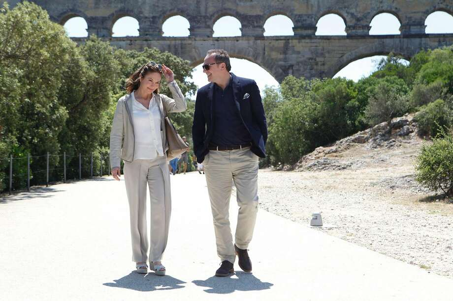"""""""Paris Can Wait,"""" with Diane Lane and Arnaud Viard, is a horrible movie. Photo: Roger Aprajou/Sony Pictures Clas, TNS"""