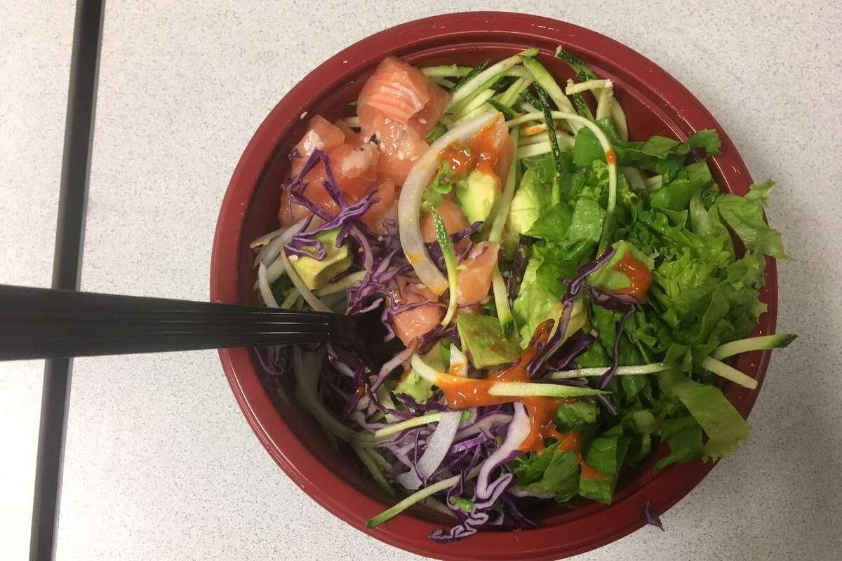 Signature Hawaiian Dish Poke Turning Into A San Antonio Dining