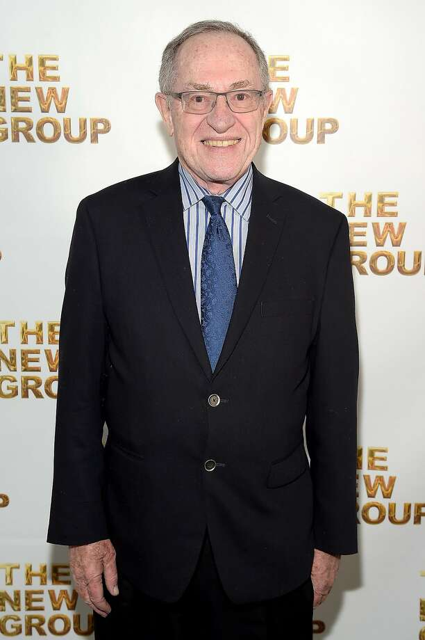 NEW YORK, NY - MARCH 07:  Alan Dershowitz attends the 2016 New Group Gala at the Tribeca Rooftop on March 7, 2016 in New York City.  (Photo by Theo Wargo/Getty Images) Photo: Theo Wargo, Getty Images