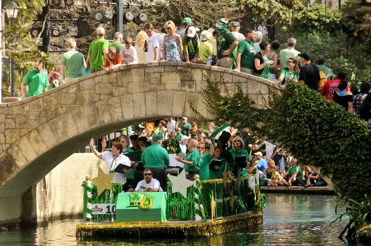 Irish beer will be a big part of St. Patrick's Day celebrations on the River Walk and beyond in San Antonio Saturday.