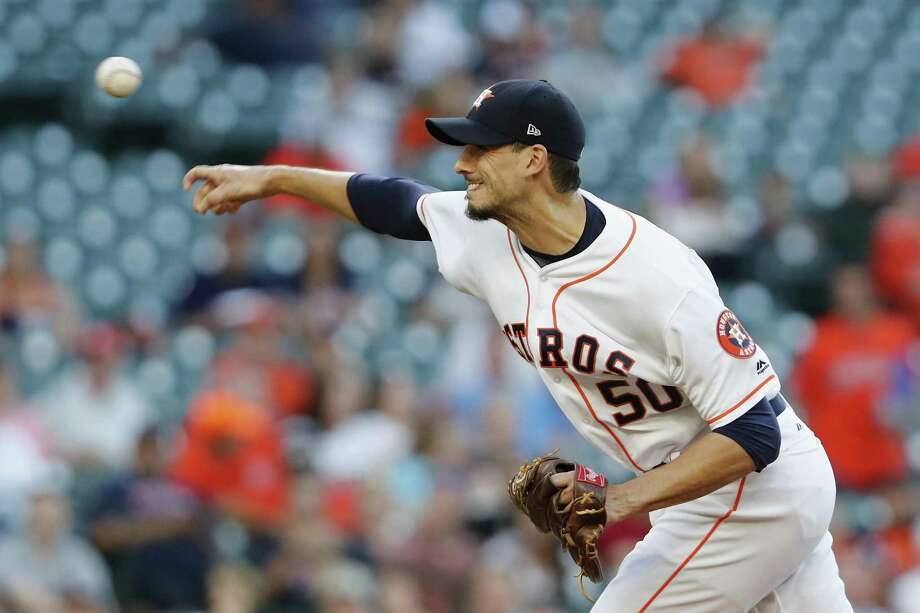 Charlie Morton signed with the Astros in the offseason for $16 million over two years. Photo: Tim Warner / Getty Images / 2017 Getty Images