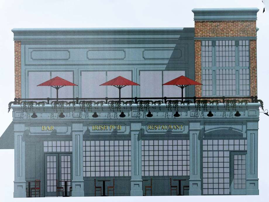 Rendering of the new City Squire Ale House on Keyes Avenue in the Upper Union neighborhood in Schenectady, N.Y. Photo: Will Waldron