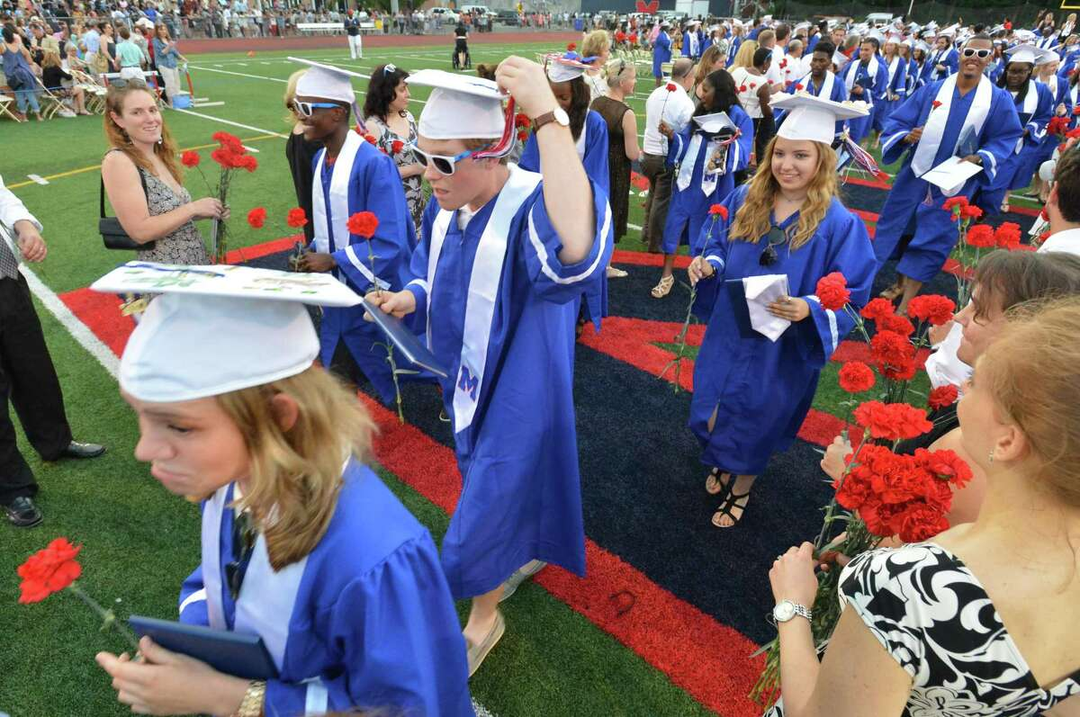 The Brien McMahon High School's Fifty-Sixth Commencement Exercises on Tuesday June 13, 2017 in Norwalk Conn.