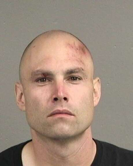 San Leandro resident Eric Mullen, 34, was arrested and charged with a number of counts related to shooting at a statue at a Catholic church in San Leandro, police said.