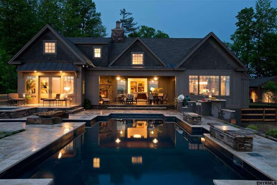 Price Chopper CEO Scott Grimmett's Saratoga home is on the market for $2.5 million Photo: RealtyUSA