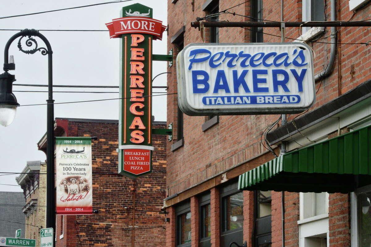 Perreca's Bakery , 31-33 N. Jay St., Schenectady. The author named the bakery's cannolis a