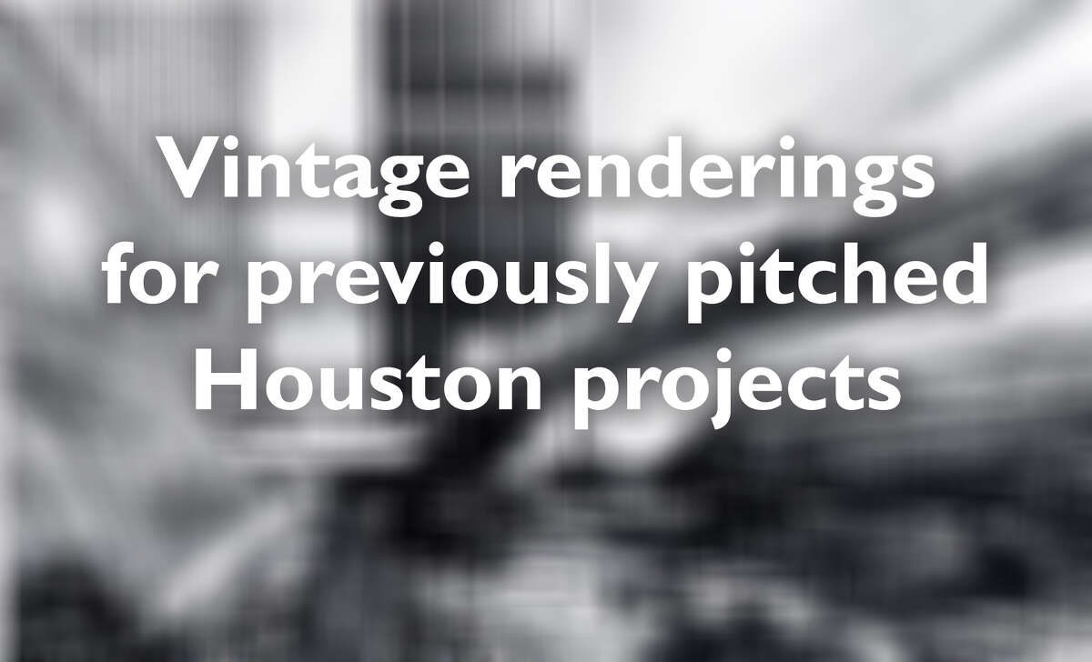 See what Houston might have looked like had these previously-pitched architectural projects come to life.