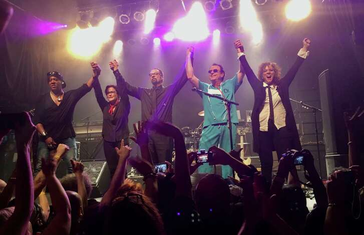 The Revolution was the backing band for Prince in the 1980s. The band included, from left, bassist Mark Brown,guitarist Wendy Melvoin, drummer Bobby Z (Robert Rivkin) and keyboardists Matt Fink and Lisa Coleman.