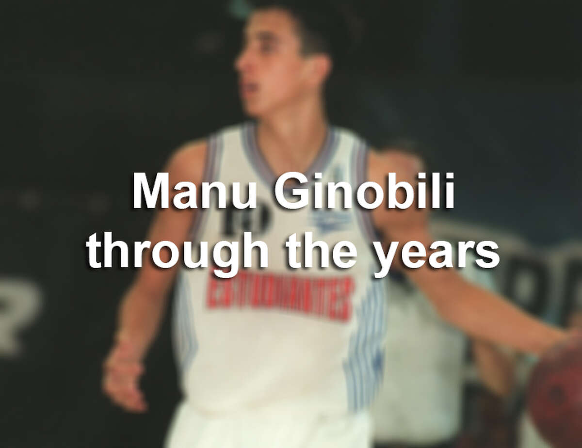 While San Antonio awaits news of a possible Manu Ginobili retirement, take a look back at some the Spurs star's key career moments.