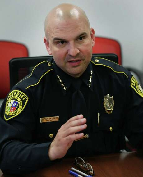 Bexar County Sheriff Javier Salazar is increasing training requirements for his deputies — a good move. Photo: Bob Owen /San Antonio Express-News / ©2017 San Antonio Express-News