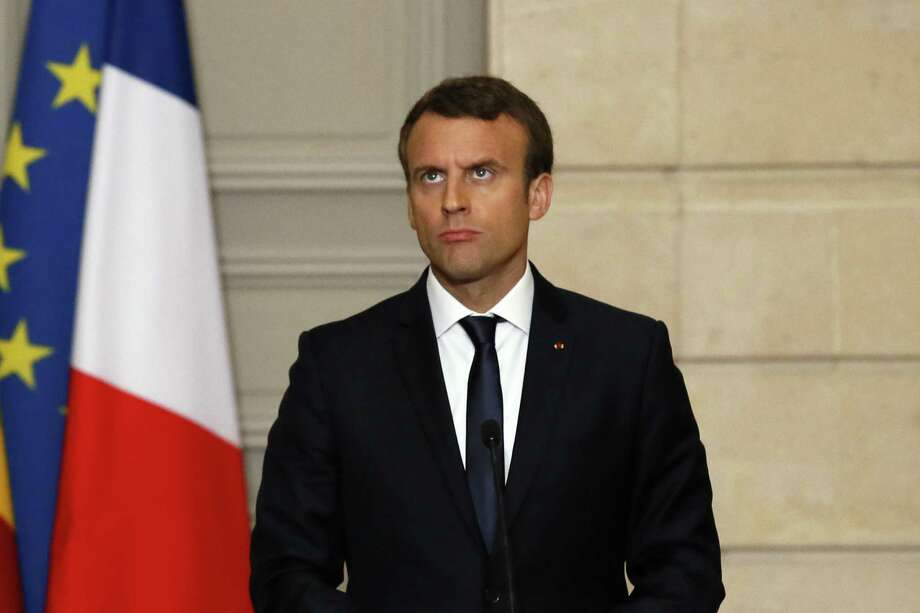 French President Emmanuel Macron is tackling what had thought to have been intractable labor and economic problems. Photo: Francois Mori /Associated Press / AP