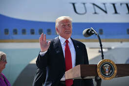 Donald Trump | Photo Credits: NICHOLAS KAMM/AFP/Getty Images