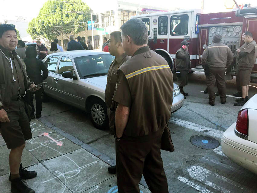 A shooting has been reported in Potrero Hill UPS.