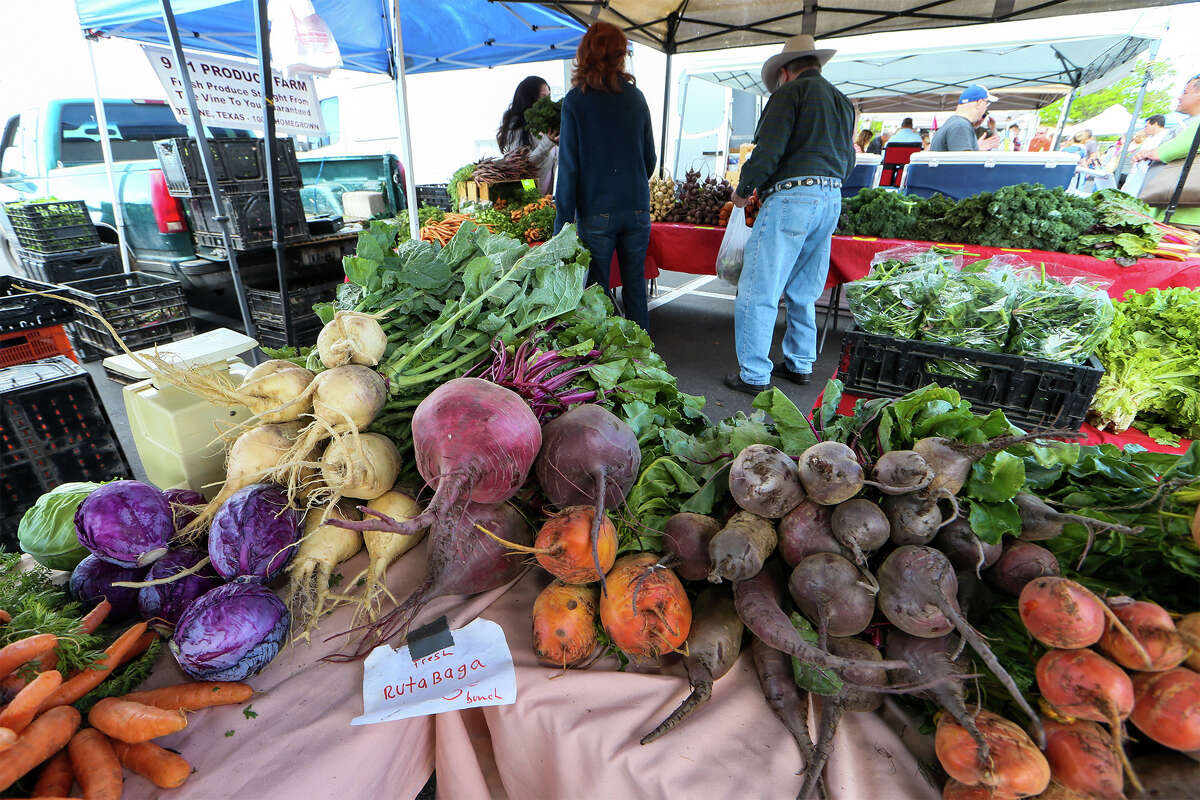 Zamudio's Farm in Natalia, shown here in a 2014 file photo, will be a vendor at the new Alamo Heights Farmers Market.