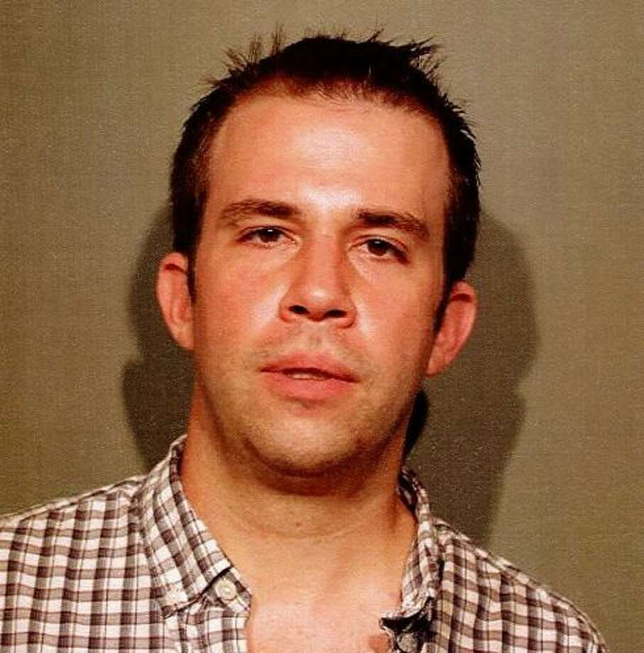 Michael Jensen of South Salem, NY turned himself over to New Canaan police on June 13, 2017 after not responding to infractions issued to him in New Canaan, CT during December 2016. Photo: Contributed Photo / Contributed Photo / New Canaan News contributed