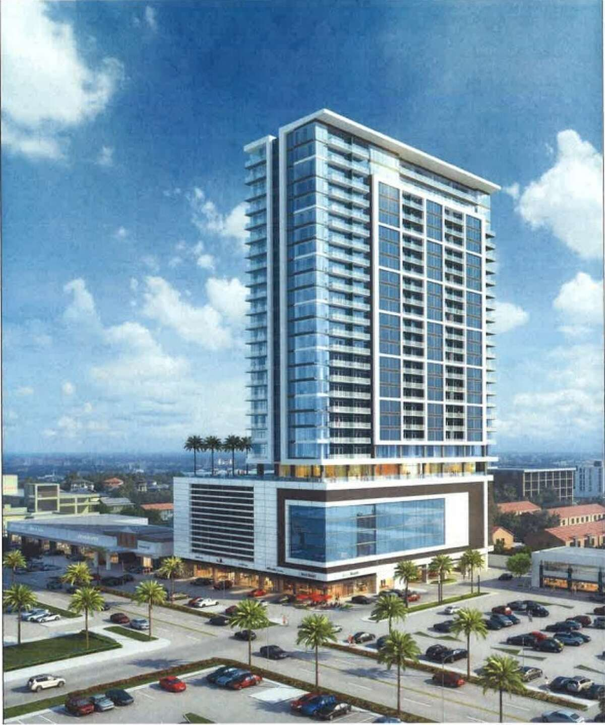 Weingarten Realty plans to build a 29-story tower in part of the River Oaks Shipping District.