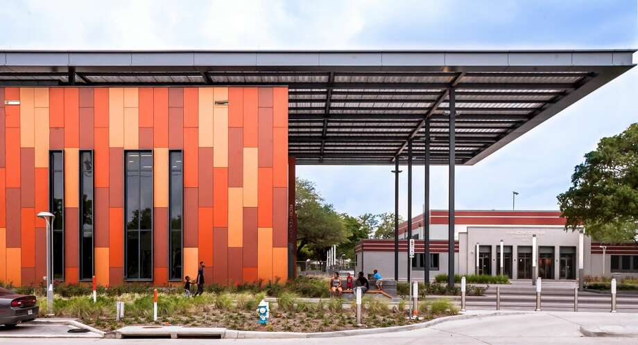 Phil Freelon imagined a new eye-catching community building at Emancipation Park. Photo: Lee Bey Architectural Photography