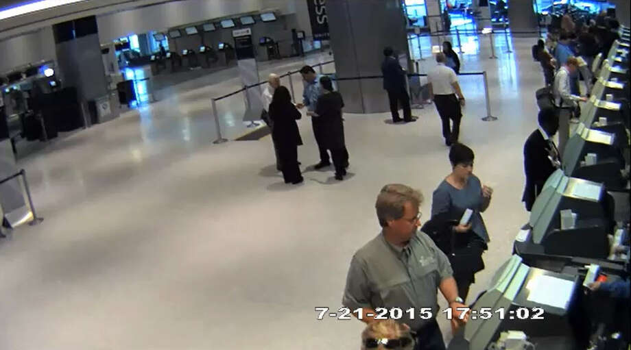 """Houston attorney Ronald Tigner is suing United Airlines, alleging that an employee at Bush Intercontinental Airport """"suddenly, unexpectedly and violently"""" injured him during an incident two years ago. Photo: Courtesy William W. Hoke"""