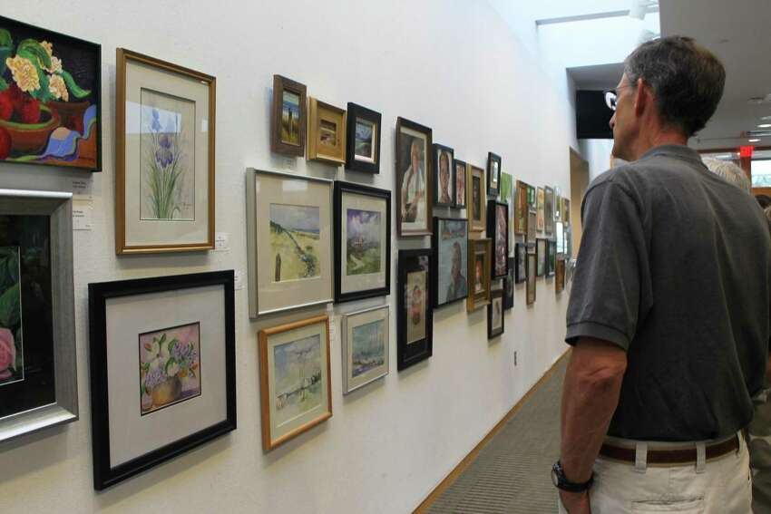 Wilton Library is hosting a reception on Friday to kick off its 73rd Annual Summer Show. The exhibition runs through August 23. Find out more.