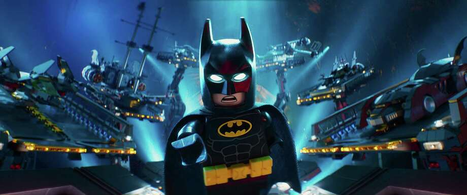 "This image released by Warner Bros. Pictures shows Batman, voiced by Will Arnett, in a scene from ""The LEGO Batman Movie."" (Warner Bros. Pictures via AP) ORG XMIT: NYET602 Photo: Warner Bros. Pictures / © 2016 Warner Bros. Entertainment Inc. and Ratpac-Dune Entertain"