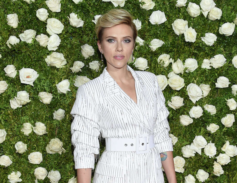 Scarlett Johansson arrives at the 71st annual Tony Awards at Radio City Music Hall on Sunday, June 11, 2017, in New York. (Photo by Evan Agostini/Invision/AP) ORG XMIT: NYET745 Photo: Evan Agostini / 2017 Invision