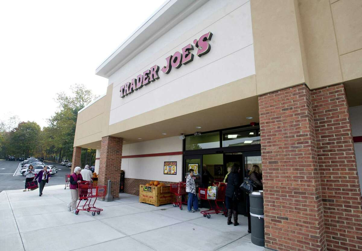 Trader Joe's on High Ridge Road in Stamford, Conn., in October 2013 when it opened. The Trader Joe's building is part of the High Ridge Shopping Center acquired in 2017 by Greenwich-based Urstadt Biddle Properties.