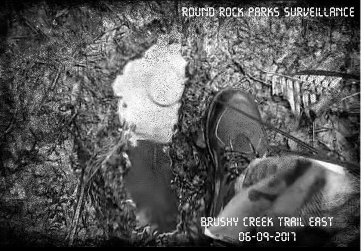 The Round Rock Parks and Recreation Department is seeking information on strange footprints that have appeared at various parks and trails.