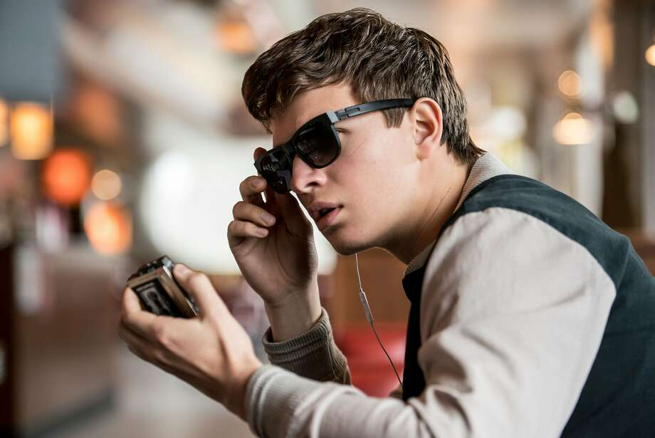"Ansel Elgort plays the title character in the new action-musical ""Baby Driver,"" written and directed by Edgar Wright. Photo: Tri-Star Pictures"