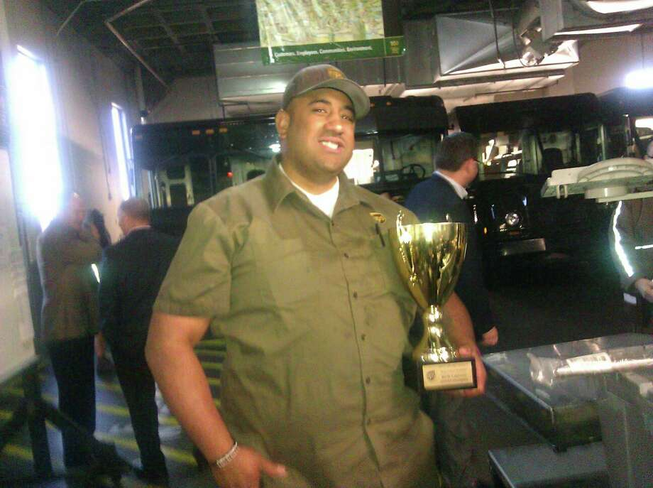 Mike Lefiti was a longtime UPS driver who took pride in his work and was widely respected by his colleagues and adored by his large family, friends and relatives said. Lefiti was killed in a workplace shooting at at UPS facility in San Francisco on Wednesday, June 14, 2017. Photo: Courtesy Of Phia Ale