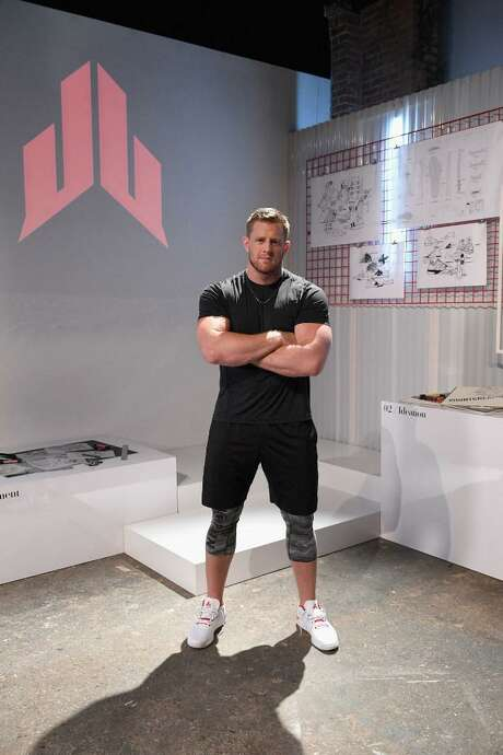 Houston Texans J.J. Watt attends the Launch of J.J. Watt's New Signature Sneaker, The Reebok JJ I at ArtBeam on June 23, 2016 in New York City. Photo: Bryan Bedder /Getty Images