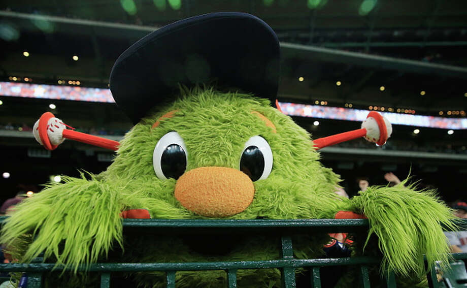 The Texas Rangers are booed for stealing Orbit's sign and tearing it up last night. >>Even though Orbit isn't one of them, check out the worst mascots in sports (and a few that are pretty good)... / 2016 Getty Images