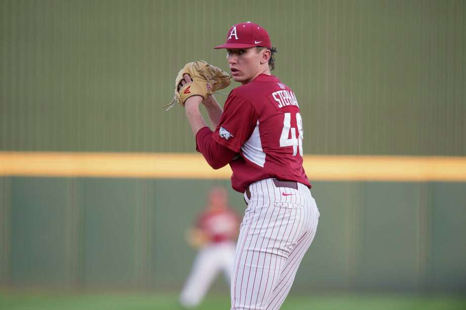Magnolia West alum Trevor Stephan was a third round selection by the New York Yankees on Tuesday after a great junior season with the Arkansas Razorbacks.. Photo: Arkansas Sports Information / Copyright_Walt Beazley