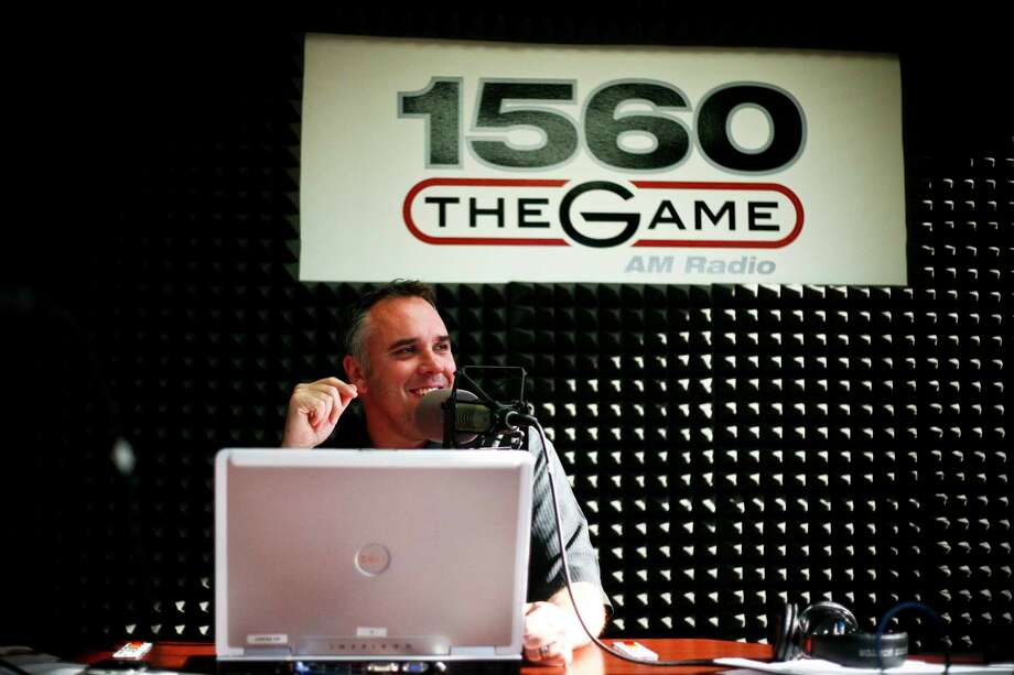 Departing KBME morning host Lance Zierlein was part of top-ranked shows at three different Houston sports talk stations. Photo: Michael Paulsen, Staff / Houston Chronicle