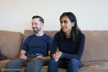 In 2015, 23-year-old tech entrepreneur Shruti Merchant was living in Cupertino, California, in a single-family home she would never be able to afford if it weren't for her six roommates. Photo: Melia Robinson, Business Insider