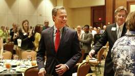 House Speaker Joe Straus prepares to address about 375 school board members and superintendents at a Texas Association of School Boards conference in San Antonio. Readers commend the speaker for his comments that were critical of the GOP leadership in Austin.