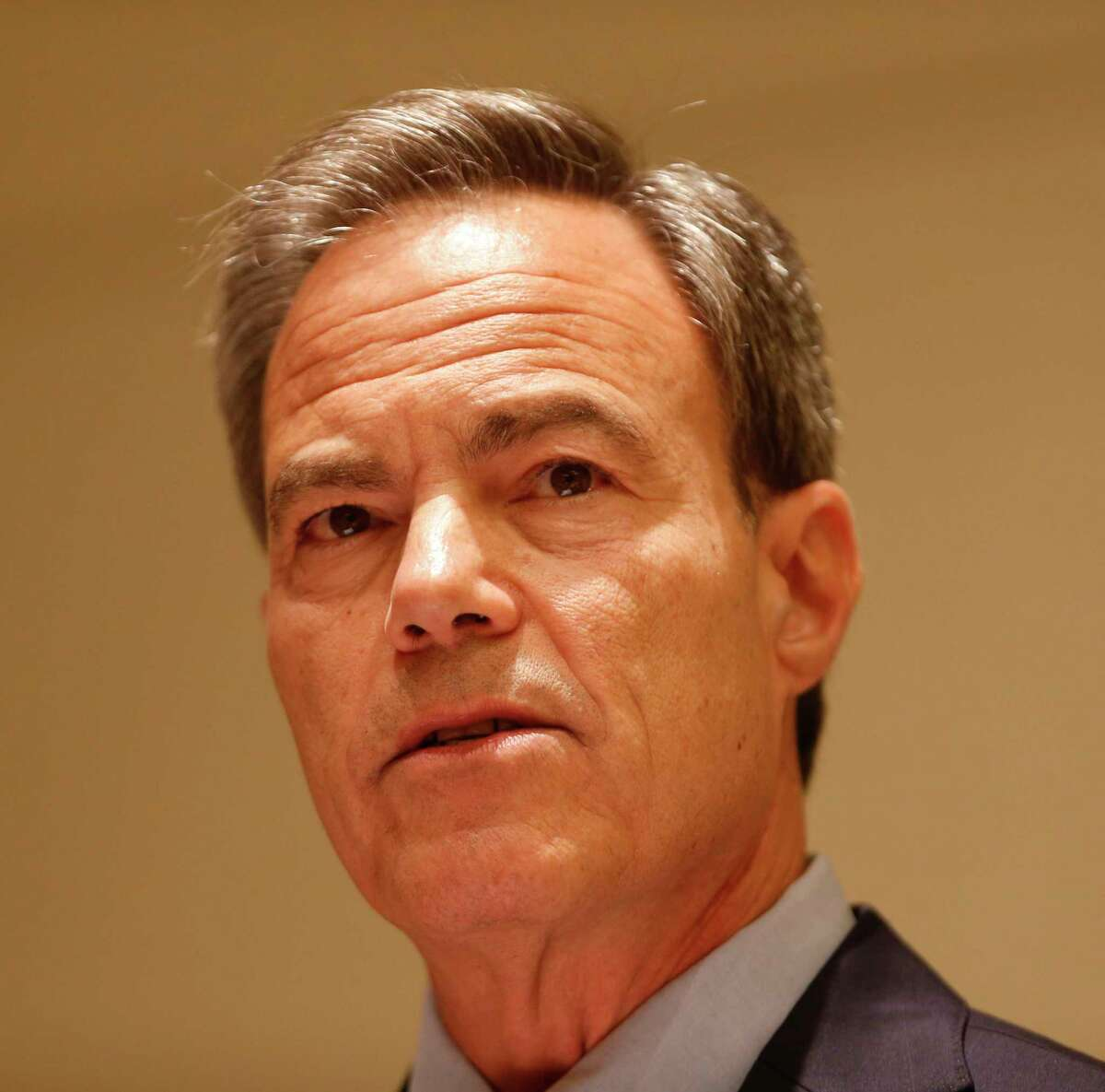 House Speaker Joe Straus address about 375 school board members and superintendents at a Texas Association of School Boards conference on Wednesday, June 14, at the San Antonio Marriott Rivercenter