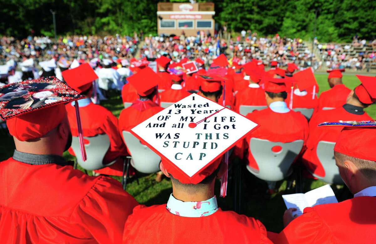Derby High School's 141st Commencement Ceremony in Derby, Conn., on Wednesday June 14, 2017.