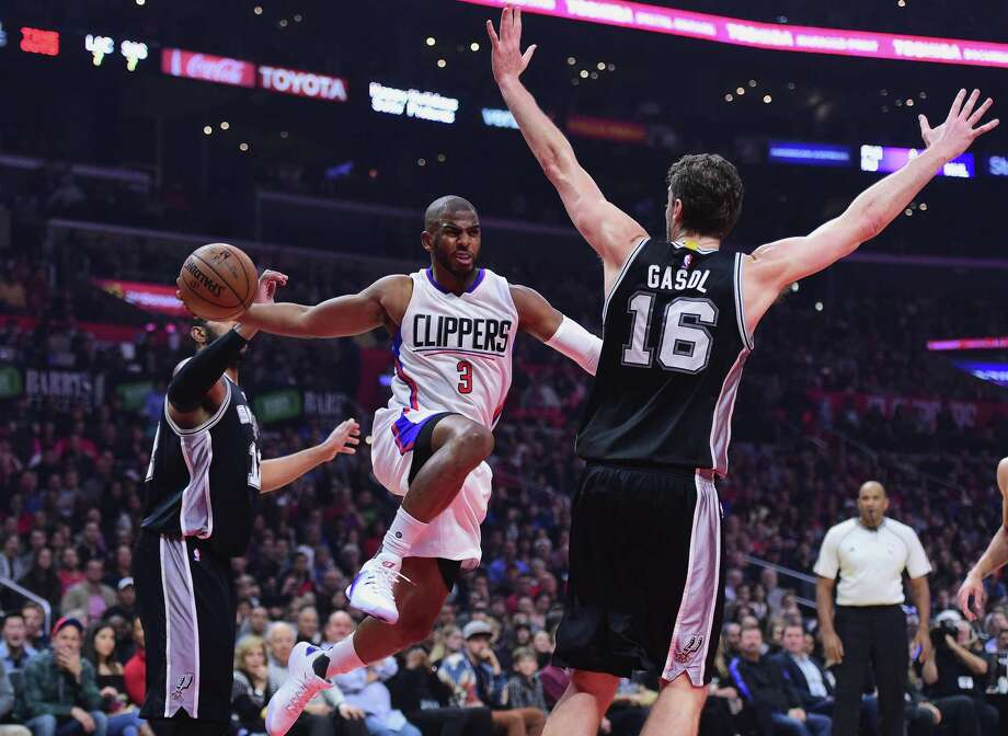 One of the biggest rumors of the NBA offseason has been the possible departure of star point guard Chris Paul from the Clippers to join the Spurs. Photo: Harry How /Getty Images File / 2016 Getty Images