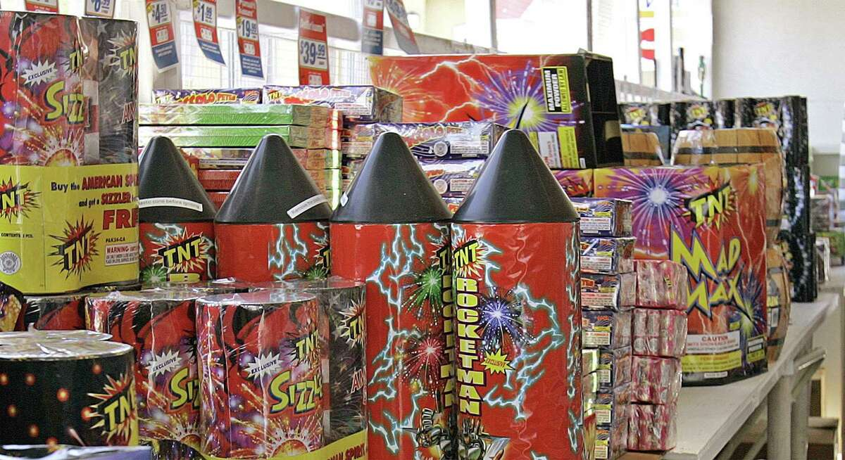 Roman candles, smoke bombs, firecrackers, snakes, skyrockets, Dago Bombs and bottle rockets are illegal fireworks in Connecticut. A Roman candle was the cause of a fire that damaged a Stamford house on June 14, 2017.