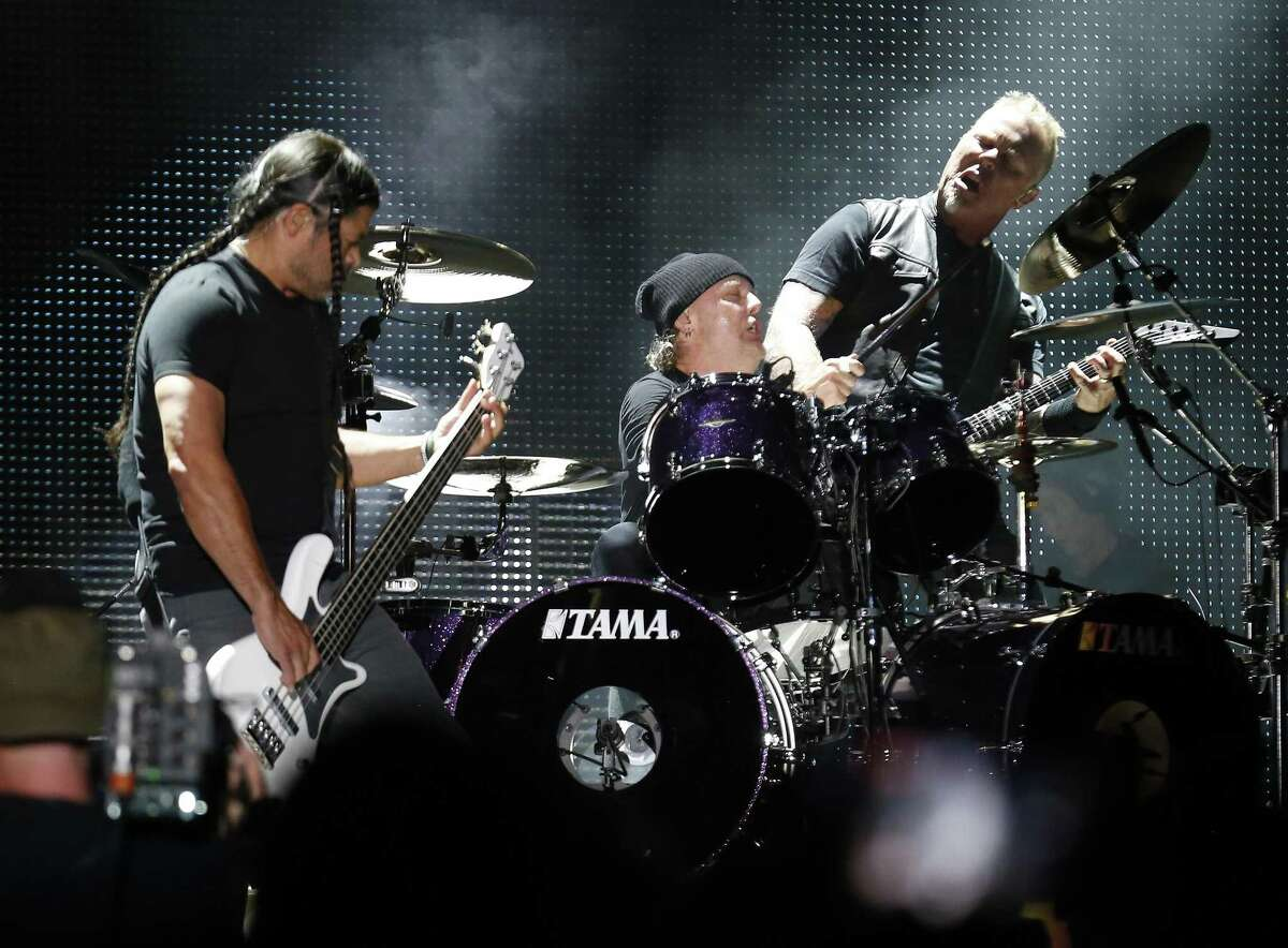 Metallica played for more than two hours Wednesday night.