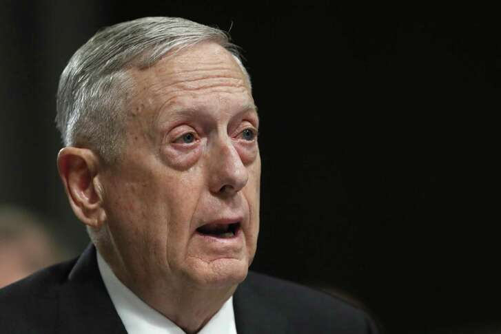 FILE - In this June 13, 2017 file photo, Defense Secretary Jim Mattis testifies on Capitol Hill in Washington. Mattis said Wednesday, June 14, 2017, he can now set U.S. troop levels in Afghanistan after receiving the authority from President Donald Trump. It's a break from past practice that Mattis said will enable him to more effectively manage the war effort. (AP Photo/Jacquelyn Martin, File)