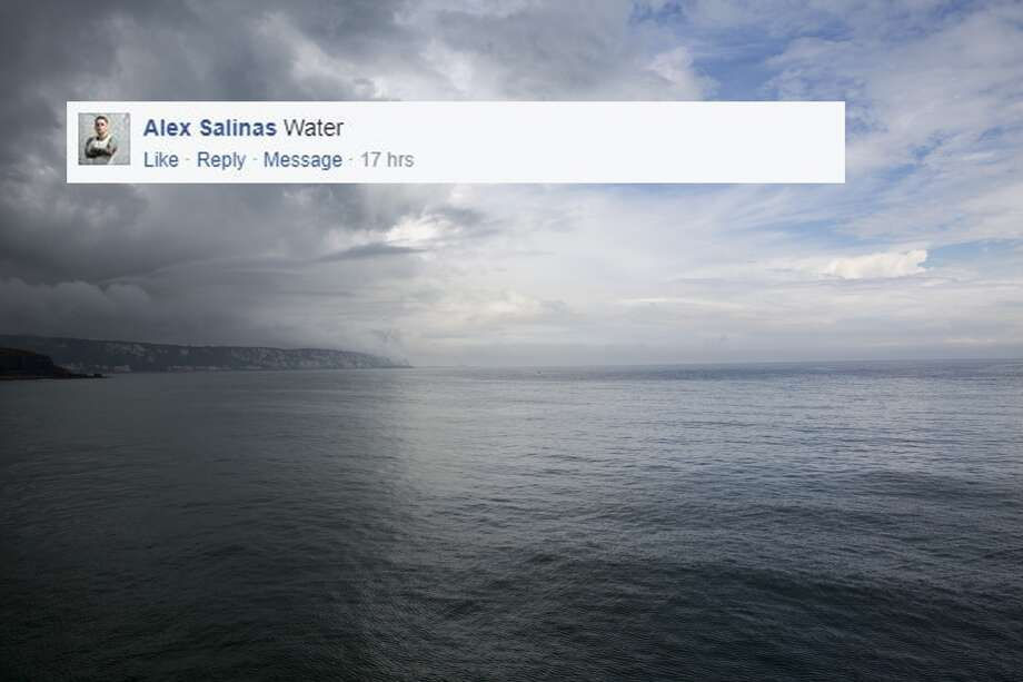 """Alex Salinas: """"Water"""" Photo: Andrew Aitchison/In Pictures Via Getty Images"""