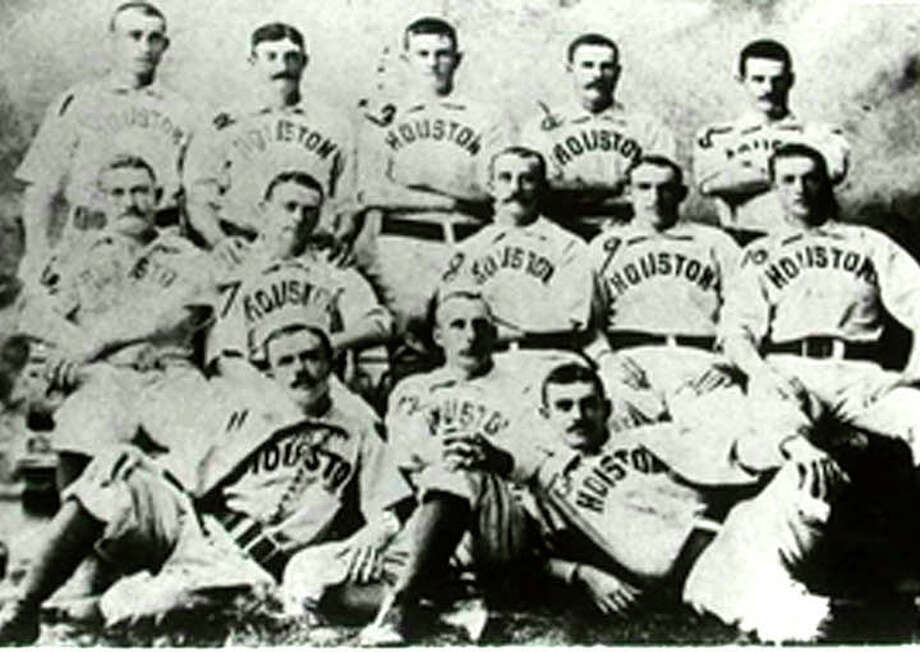 1889Houston Mud Cats, part of the Texas League, won the most games in the League that year. The previous year, the team was called the Houston Babies. Photo: Wikipedia Commons